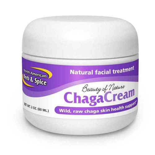 North American Herb & Spice Chaga Cream - 60ml