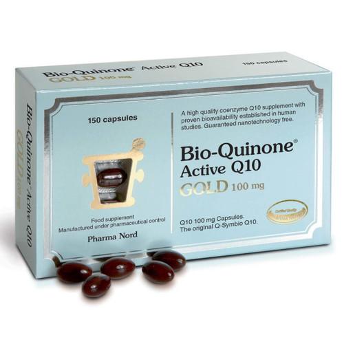 Pharma Nord Bio-Quinone Active Q10 GOLD 100mg - 150 capsules