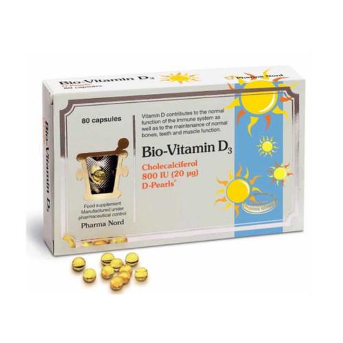 Pharma Nord Bio-Vitamin D3 800iu - 80 capsules