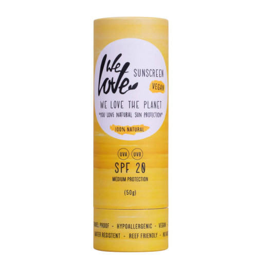 We Love The Planet Suncare Stick SPF 20 - 50g