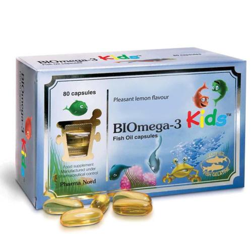 Pharma Nord BIOmega-3 Kids - 80 capsules