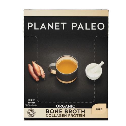 Planet Paleo Bone Broth Box (Pure) - 10 x 9g sachet