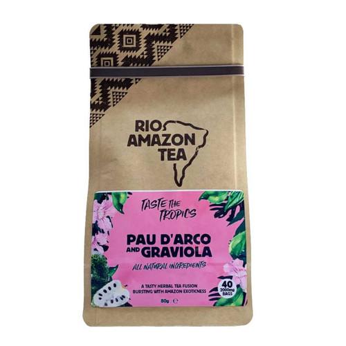 Rio Amazon Pau d'Arco & Graviola Tea - 40  Bags
