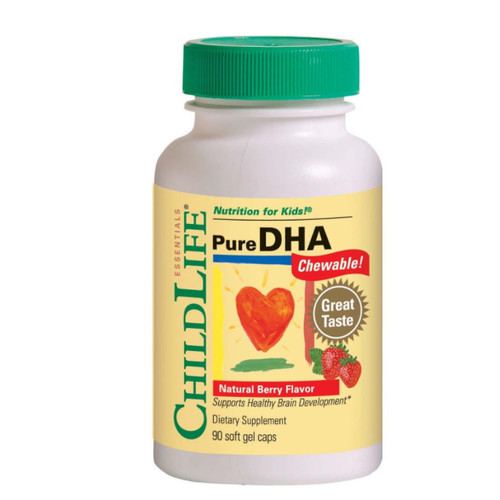ChildLife Essentials Pure DHA (Berry) - 90 softgels