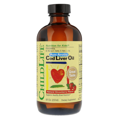 ChildLife Essential Cod Liver Oil (Strawberry) - 237ml