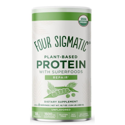 Four Sigmatic Plant Based Protein Unflavoured - 480g