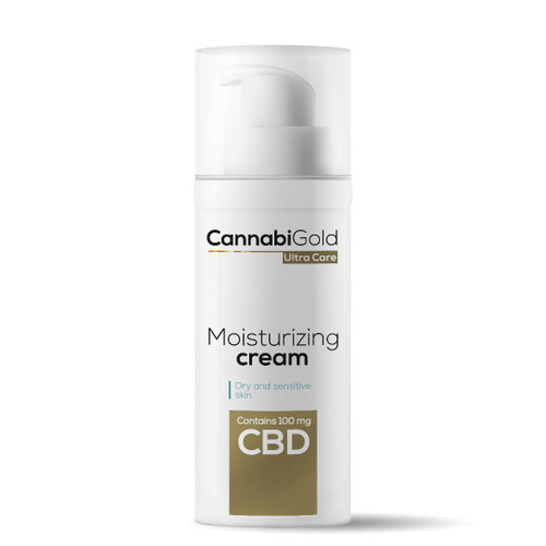 Cannabigold Moisturising Cream 100mg - 50ml