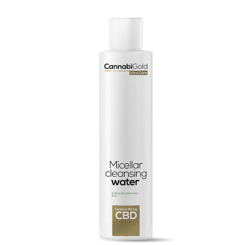 Cannabigold Micellar Cleansing Water (Oily/ Combination) 25mg - 200ml
