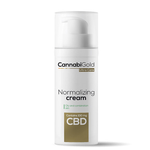Cannabigold Normalising Cream 100mg - 50ml