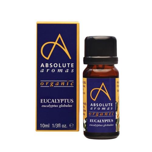 Absolute Aromas Organic Eucalyptus Globulus - 10ml