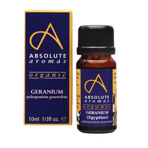 Absolute Aromas Organic Geranium Egyptian - 10ml