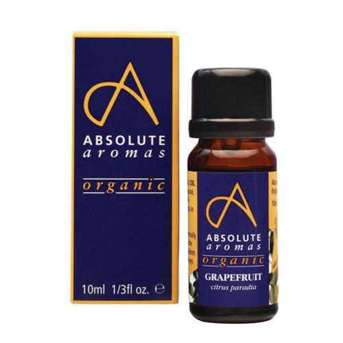 Absolute Aromas Organic Grapefruit - 10ml