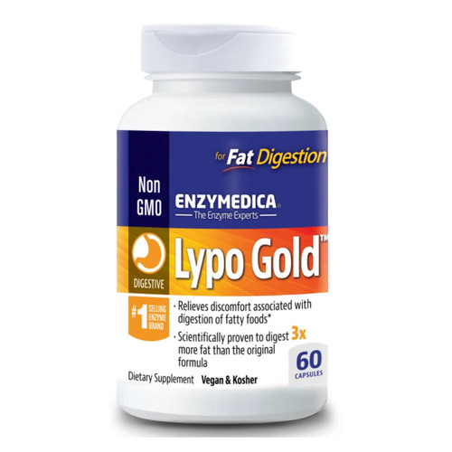 Enzymedica Lypo Gold - 60 capsules