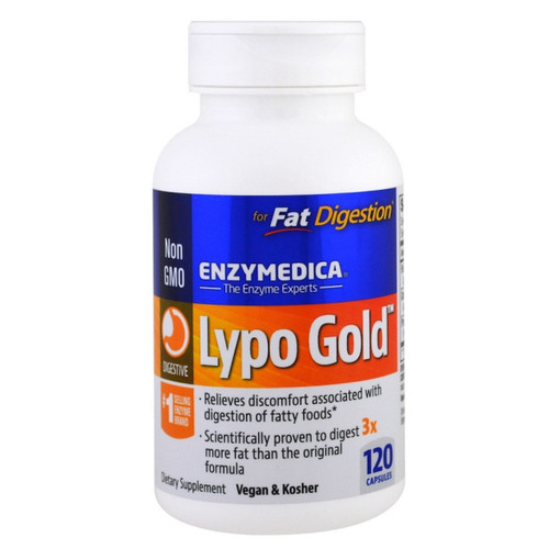 Enzymedica Lypo Gold - 120 capsules