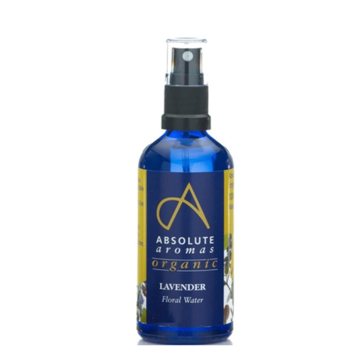 Absolute Aromas Organic Lavender Water - 100ml