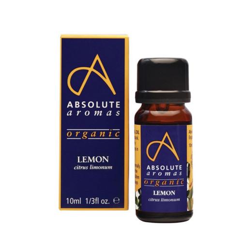 Absolute Aromas Organic Lemon - 10ml