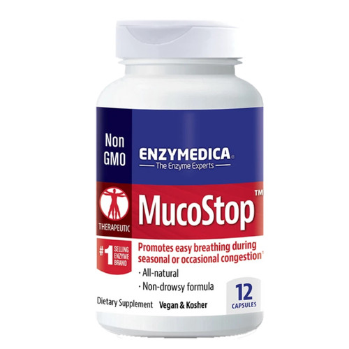 Enzymedica MucoStop - 48 capsules
