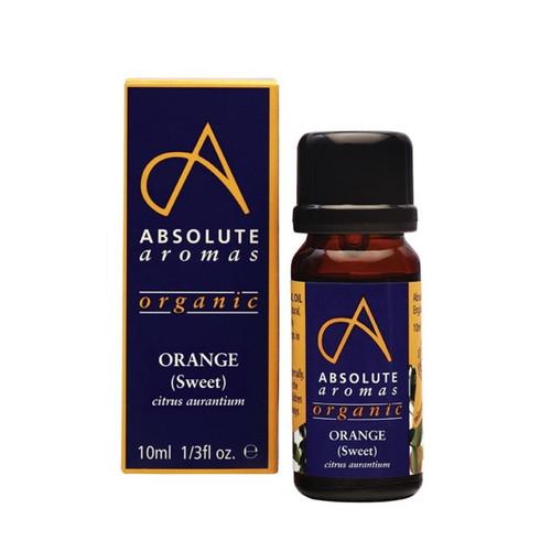 Absolute Aromas Organic Orange - 10ml