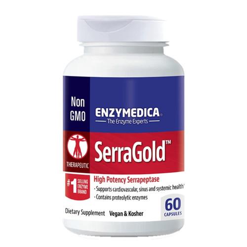 Enzymedica SerraGold - 60 capsules