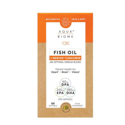 Aqua Biome Fish Oil Meriva Curcumin - 60 capsules