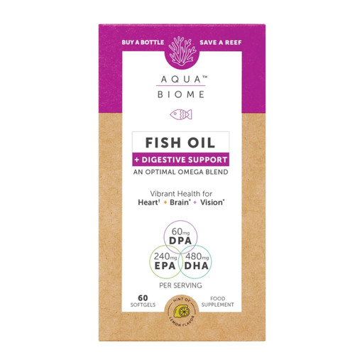 Aqua Biome Fish Oil Digestive Support - 60 capsules