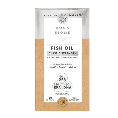 Aqua Biome Fish Oil Classic Strength - 60 capsules