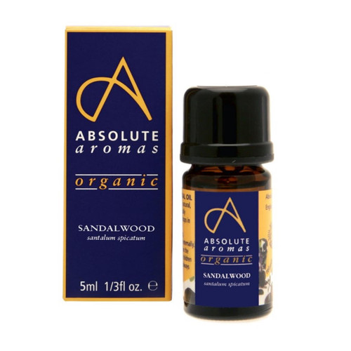 Absolute Aromas Organic Sandalwood - 5ml