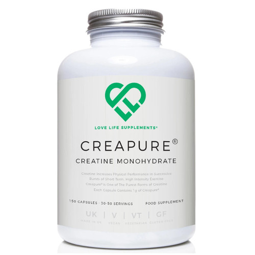 Love Life Supplements Creapure Creatine Monohydrate - 150 capsules