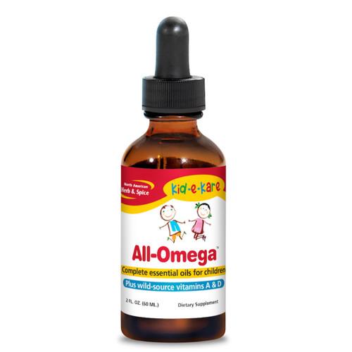 North American Herb & Spice All Omega Kids - 60ml