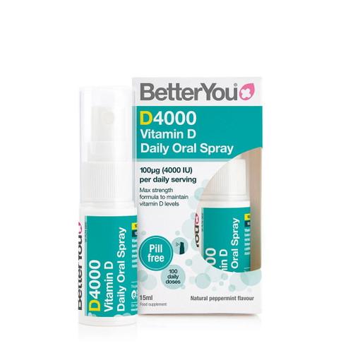 BetterYou D4000 Vitamin D Spray - 15ml