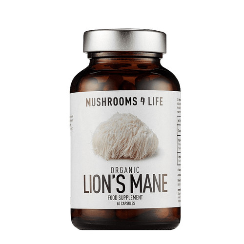 Mushrooms 4 Life Organic Lion's Mane - 60 capsules