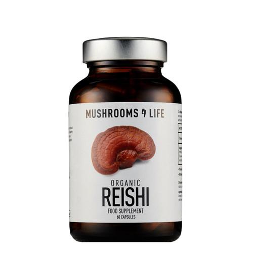 Mushrooms 4 Life Organic Reishi - 60 capsules