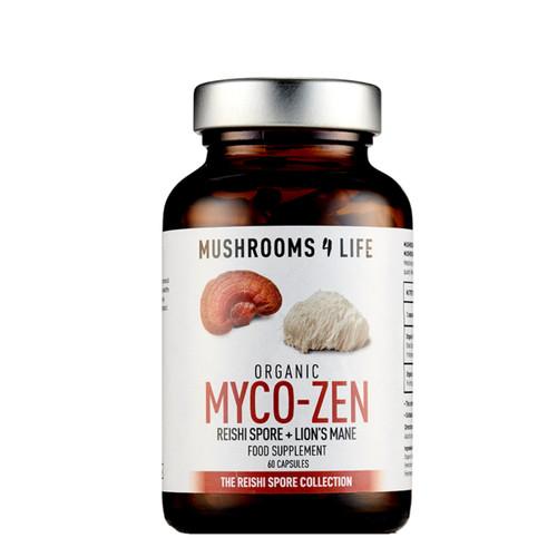 Mushrooms 4 Life Organic Myco-Zen Spore - 60 capsules