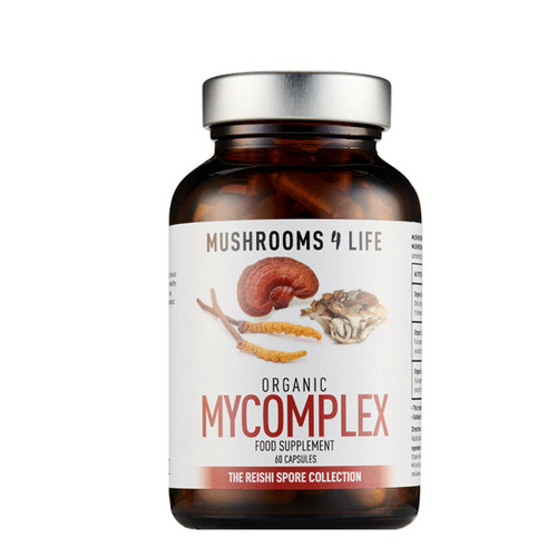 Mushrooms 4 Life Organic Mycomplex Spore - 60 capsules
