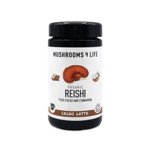 Mushrooms 4 Life Organic Reishi Cacao Latte - 140g