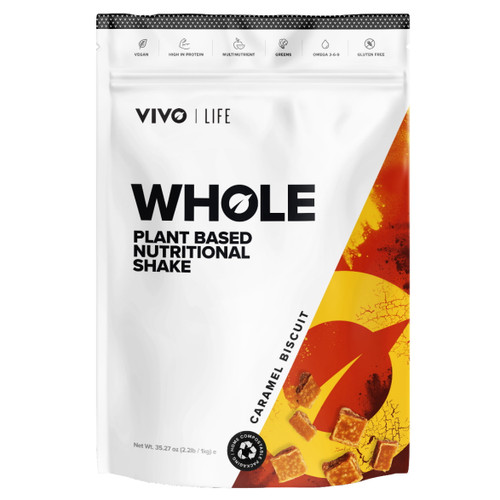 Vivo Life WHOLE Plant Based Nutritional Shake Caramel Biscuit - 1kg