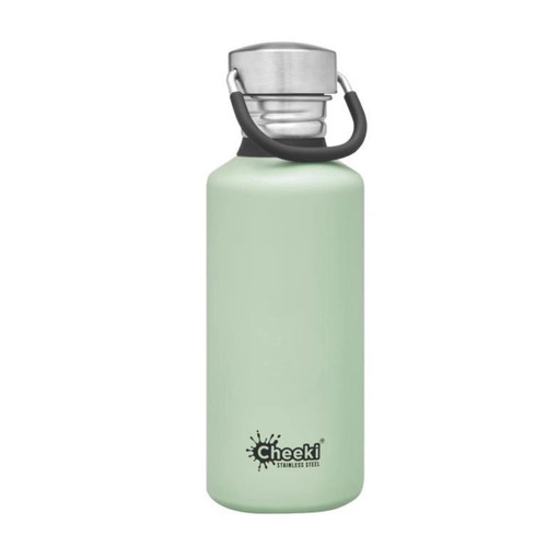 Cheeki Single Wall Water Bottle (Pistachio) - 500ml