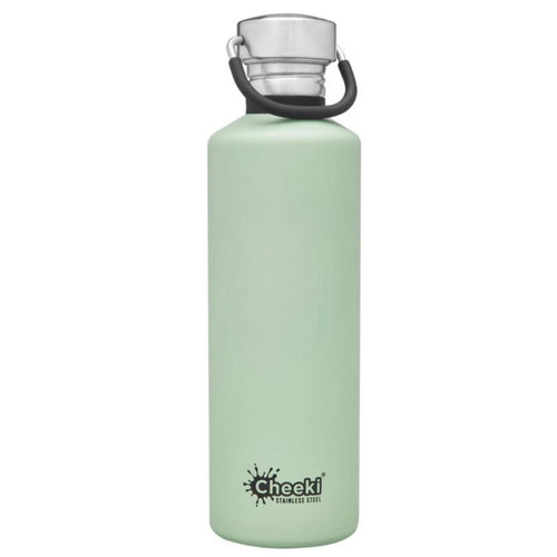 Cheeki Single Wall Water Bottle (Pistachio) - 750ml