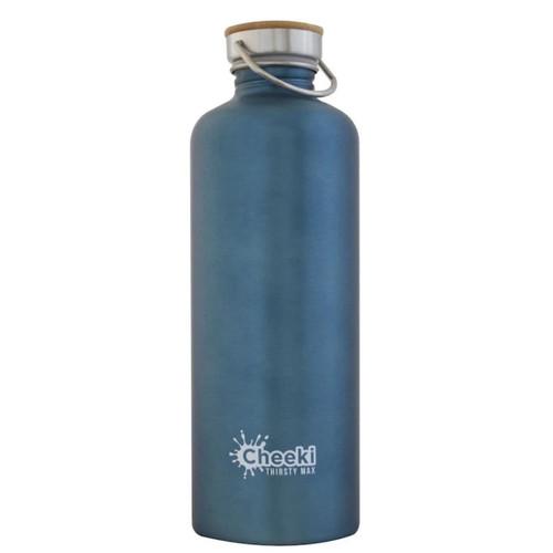 Cheeki Single Wall Water Bottle (Teal) - 1.6 litre