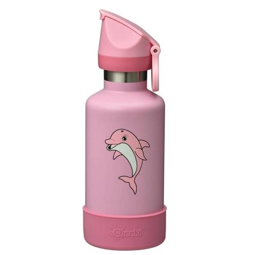 Cheeki Kids Insulated Water Bottle (Dolphin) - 400ml