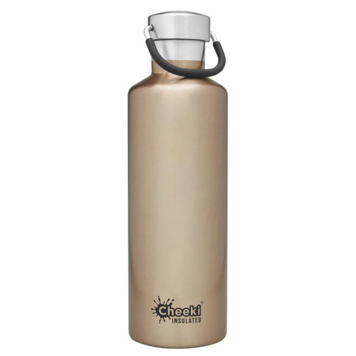 Cheeki Insulated Wall Water Bottle (Champagne) - 600ml
