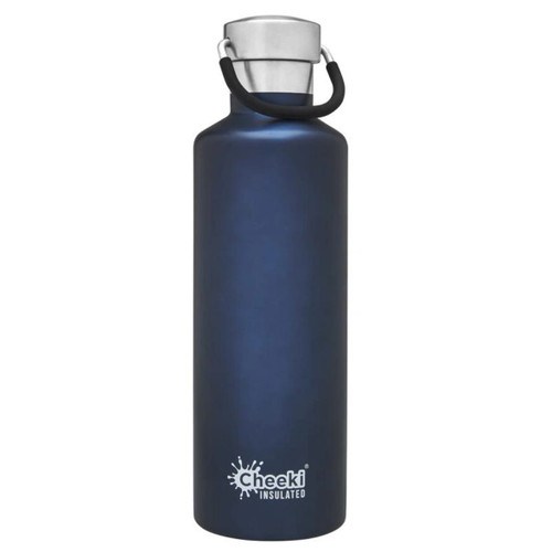 Cheeki Insulated Wall Water Bottle (Ocean) - 600ml
