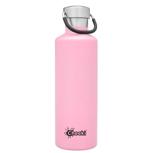 Cheeki Insulated Wall Water Bottle (Pink) - 600ml