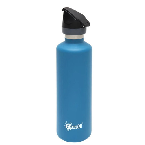 Cheeki Active Insulated Wall Water Bottle (Topaz) - 600ml