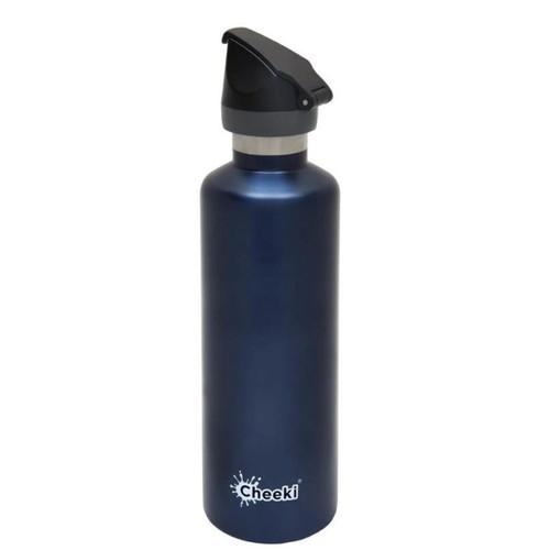 Cheeki Active Single Wall Water Bottle (Ocean) - 750ml