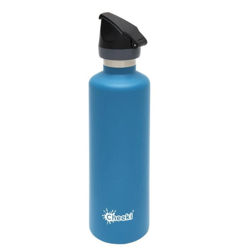 Cheeki Active Single Wall Water Bottle (Topaz) - 1 litre