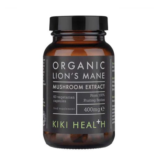Kiki Health Organic Lion's Mane Extract Mushroom - 60 capsules