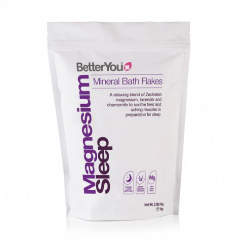BetterYou Magnesium Sleep Bath Flakes - 1kg