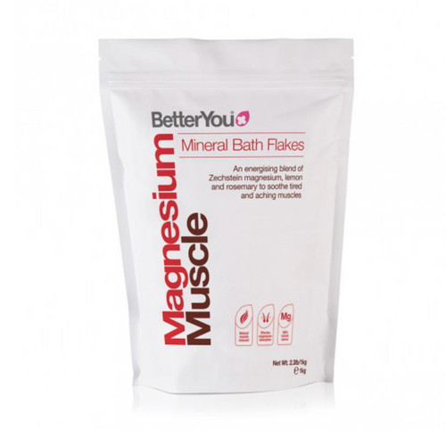 BetterYou Magnesium Muscle Bath Flakes - 1kg