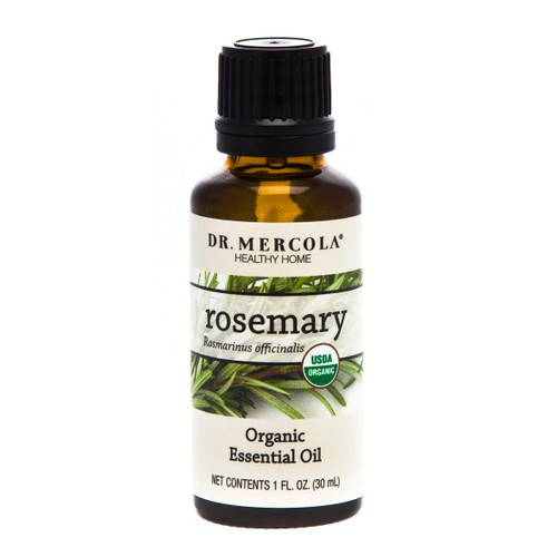 Dr Mercola Organic Rosemary Essential Oil - 30ml